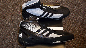 Adidas-Response-3-Black-Grey-Wrestling-Shoes-Many-Sizes-NEW-G62630