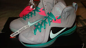 NIKE-LEBRON-9-PS-ELITE-SOUTH-BEACH-PRE-HEAT-US-13-UK-12-EU-47-5-MCFLY-PRE-HEAT