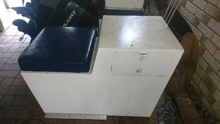 Aluminium boat seat boxes