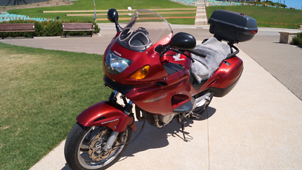 Motorcycle NT650V. LAMS