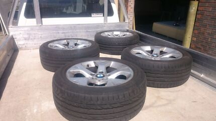 Bmw 17 mags with bridgestone runflat tyres Sunnybank Hills Brisbane South West Preview
