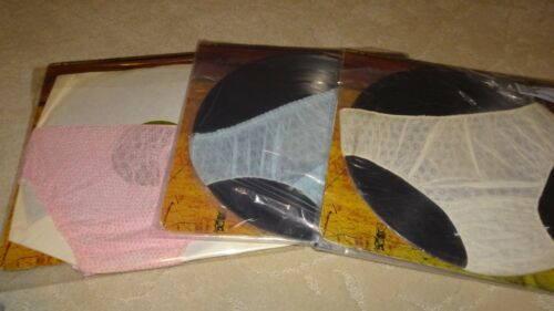 SET OF THREE ALICE COOPER SCHOOLS OUT VINYL GREEN LABEL ALBUMS WITH PANTIES