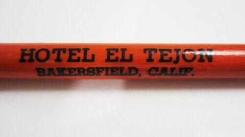 Vintage Hotel El Tejon Bakersfield CA Advertising Fountain Pen Wood 1920-30
