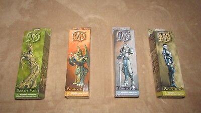 4 Mage Knight Rebellion Booster Pack WZK200 D&D RPG Miniature WizKids NEW
