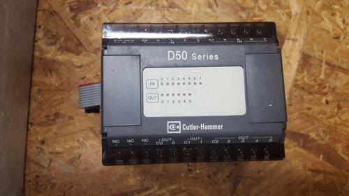CUTLER HAMMER D50ER14 PROGRAMMABLE CONTROLLER   W161