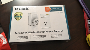 D_link av500 powerline adapter Seabrook Hobsons Bay Area Preview