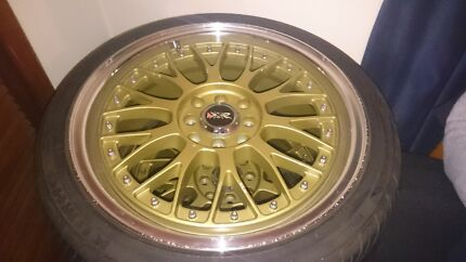 "XXR 17"" x 7"" 4stud wheels 38off set Surfers Paradise Gold Coast City Preview"