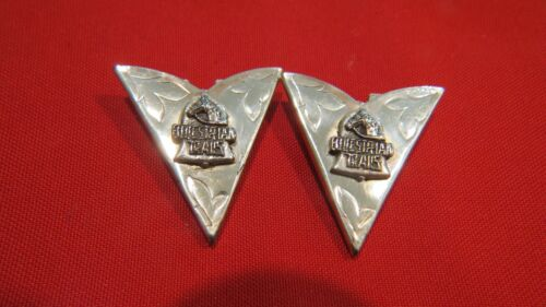 Sterling Silver Western Equestrian Trails Collar Tips