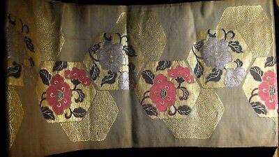 Antique Japanese Silk Obie