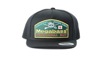 583cac97 Megabass Throwback Snapback Hat - Retro Bass Fishing Apparel Bass Fishing  Hat