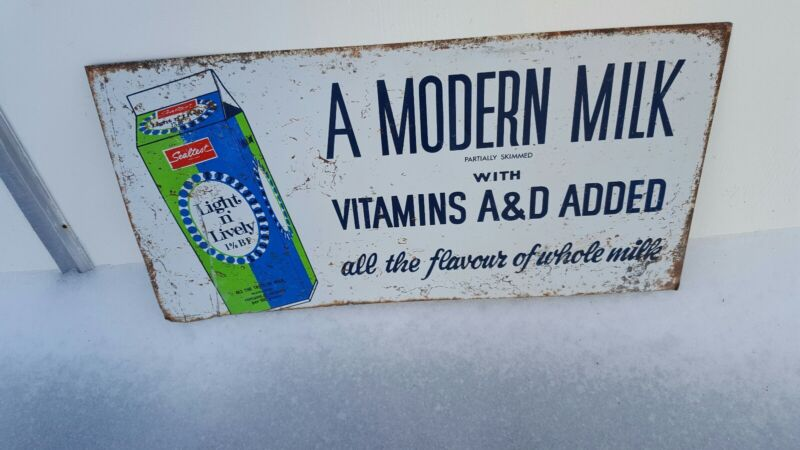 Vintage advertising sealtest sign milk dairy