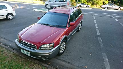 2001 Subaru outback 4x4 wagon rwc and rego 2.5 4 cylinder manual