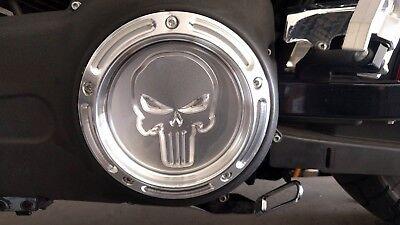 Harley Davidson Dyna Big Twin 5 Hole Derby Cover Punisher