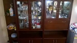 WALL UNIT DISPLAY CABINET Kings Park Brimbank Area Preview