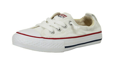 Taylor Shoreline Slip Youth Girls Boys White Sneaker (Chuck Taylor Boys)