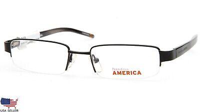 NEW PERRY ELLIS AMERICA PEA-124A-2 BLACK EYEGLASSES GLASSES FRAME (America Eye Glasses)