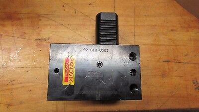 Sandvik Coromant 92-610-0503 Vdi 40 1 Square Shank Cnc Tool Holder