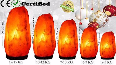 Himalayan Salt Lamp Crystal Pink Salt Lamp Healing Ionizing Lamps Best Quality