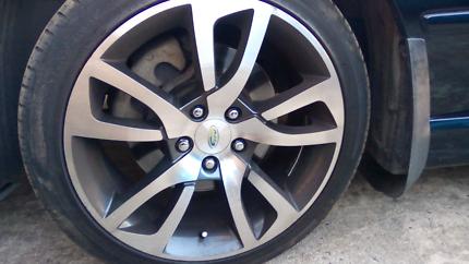 Xr6 tyohoon wheels
