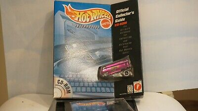 Hot Wheels VW Drag Bus w/Collectors Guide, CD-ROM
