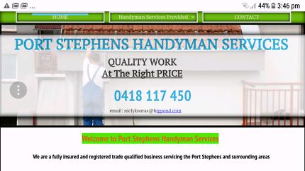 Port Stephens Handyman Services Corlette Port Stephens Area Preview