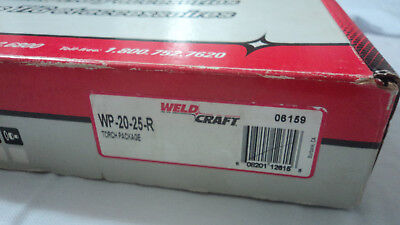 Weldcraft Tig Torch Package Wp-20-25-r