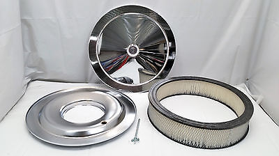 14' Chrome Air Cleaner - 14