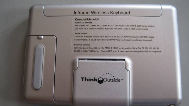 THINK OUTSIDE INFRARED WIRELESS KEYBOARD | Computer Accessories