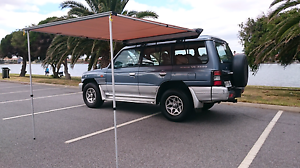 Mitsubishi Pajero 4x4, Backpacker Ready + Rego & Awning Adelaide CBD Adelaide City Preview