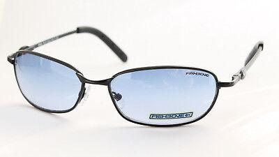 FISHBONE Original Sonnenbrille Sunglasses Lunettes Oval Blau DUAL Cool Blue (Fishbone Sunglasses)