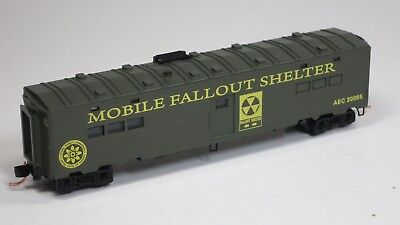 Micro-Trains MTL N AEC Atomic Energy Co Mobile Fallout Shelter SPECIAL RUN 08-79