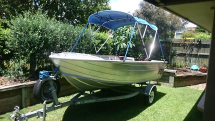 Boat stessco 4.2 catcher 30 hp mercury perfect condition