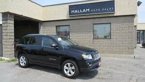 2012 Jeep Compass Sport/North 4WD, Power Sunroof, Bluetooth