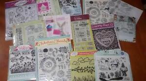 Acrylic Cardmaking /Scrapbooking Stamps Shailer Park Logan Area Preview