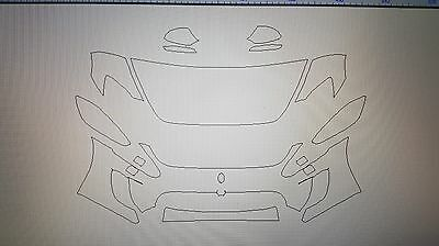 3M Scotchgard Paint Protection Film Pro Series Kit 2013 2014 2015 Maserati MC