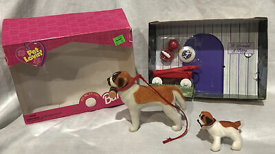 Barbie Pet Lovin' St. Bernard And Puppy COMPLETE HTF 1998 {