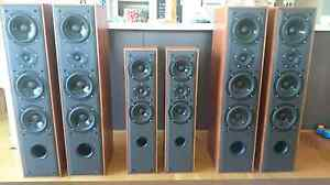 DALI speakers, 3 pairs, home theatre, sell/trade/swap Little Mountain Caloundra Area Preview