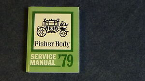 1979 Fisher Body Service Manual London Ontario image 1