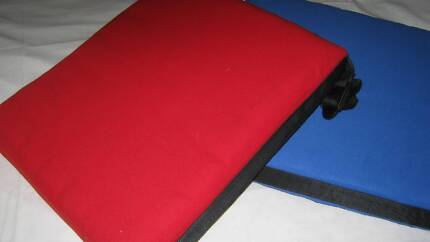 Chair/Seat CUSHIONS (PKT of five ) either red or blue