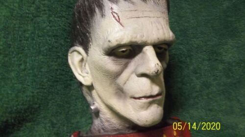 vintage universal monsters frankenstein head horror creature