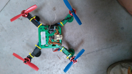 Custom built drone swap for Apple or Android