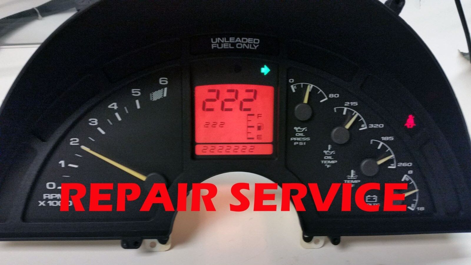 1990 1991 19921993 1994 1995 1996 CHEVY CORVET Instrument Cluster REPAIR SERVICE