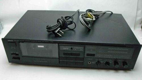Yamaha Natural Sound Stereo Cassette Deck Model KX-400U