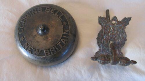 CORBIN Antique Victorian Era 1869 ,Mechanical Door Bell