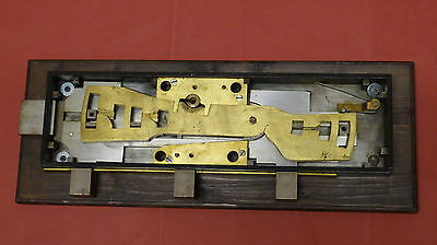 altes Tresorschloß safe lock  Hobbs London Violence Lock Schlüssel Schloß 1900