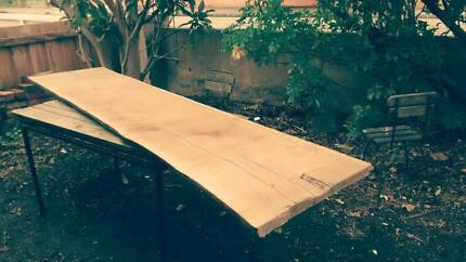 Eastern red box timber slab suit furniture project. Brunswick Moreland Area Preview