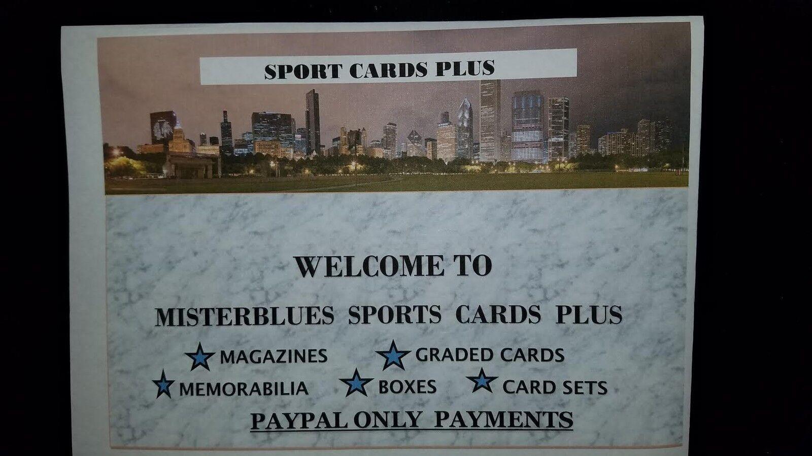 MISTERBLUES SPORTS CARD PLUS