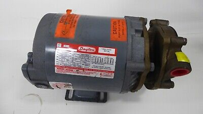 Teel 1p792 Assembly Pump And 3n088h Dayton Electric Motor 34hp 3ph 34502850rpm