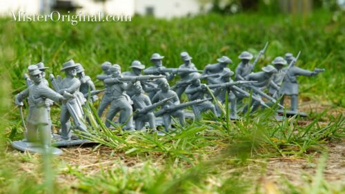Armies in Plastic Civil War (1861-1865) Confederate Infantry 1/32 Scale 54mm
