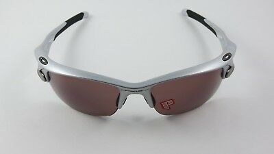 cc2616d38d Oakley Fast Jacket Silver OO Black Iridium Polarized Asian Fit NEW RARE